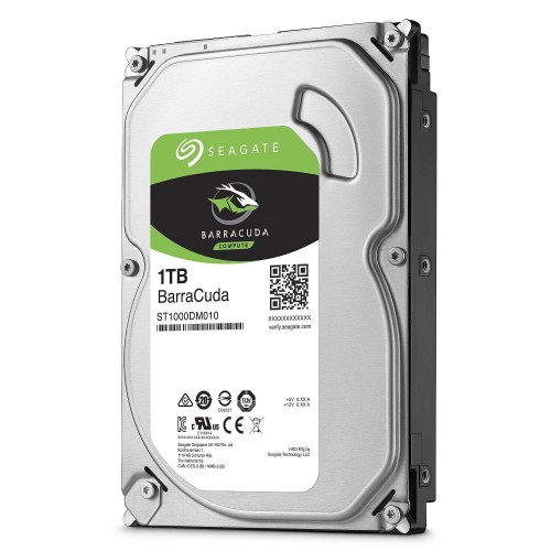 "Seagate ST1000DM010 HDD da 1 TB, 64 MB Sata III da 3.5"", Grigio"