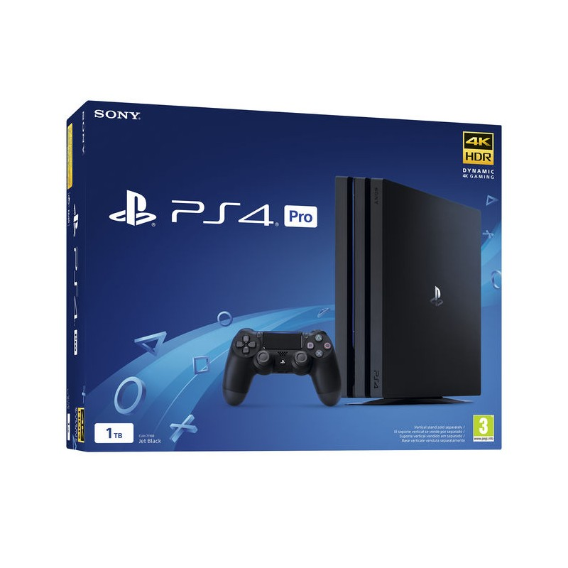 PS4 Pro 1TB Nero 1000 GB Wi-Fi