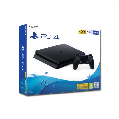 Sony PS4 Slim 500GB F Chassis Black